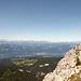 Blick vom Weisshorn ins Etschtal und in die Brenta (notes)