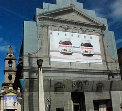 Nutella sponsoring S.Maria in Traspontina