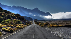 #04 The road to heaven Parque Nacional del Teide Highway № TF-21 - National Geographic Germany - Winning photo July 2010