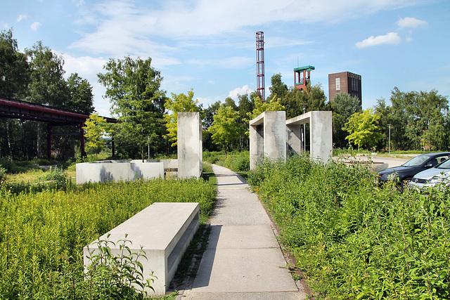 Weg auf dem Gleis (Zeche Zollverein 12, Essen-Stoppenberg) / 16.06.2018