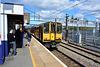 England 2016 – EMU 313057 arriving at Hornsey Station