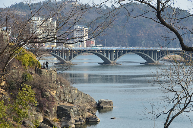 Jinju Bridge and Nam River