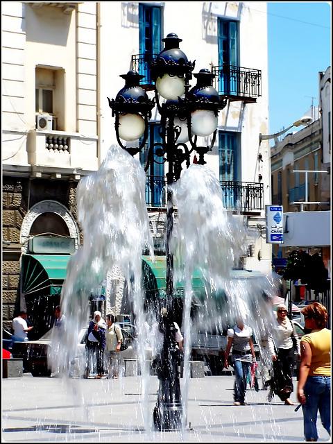 Tunisi : la fontana nella Medina