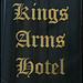 Kings Arms Hotel sign