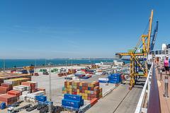 Cádiz, Containerhafen