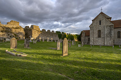 Portchester Castle - cemetery