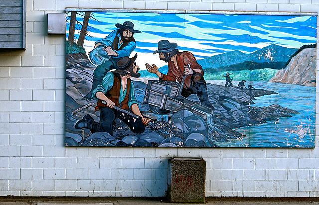 Mural in Quesnel, BC