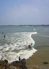 Mahatma Gandhi Beach.
