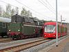 18 201 und Citybahn im Bahnhof Klaffenbach