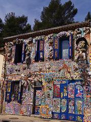 ...la maison de la Dame qui peint...