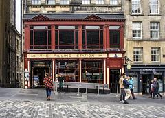 'The Filling Station', High Street, Royal Mile, Edinburgh