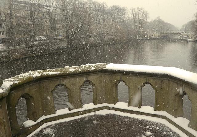 Plötzlicher Wintereinbruch