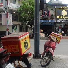 Lieferung motorbikes boxes