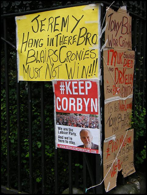Corbyn cronies hanging in