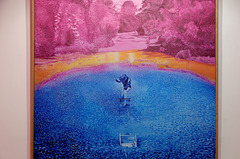 """Technicolor n°1. Monet est mort"" (Jacques Monory - 1977)"