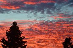 Der Himmel über Sponholz