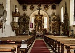 Kirche St. Bartholomäus im Montafon