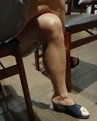 wife in in onex paty  heels