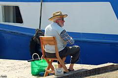 Plaisir du pêcheur occasionnel ..!