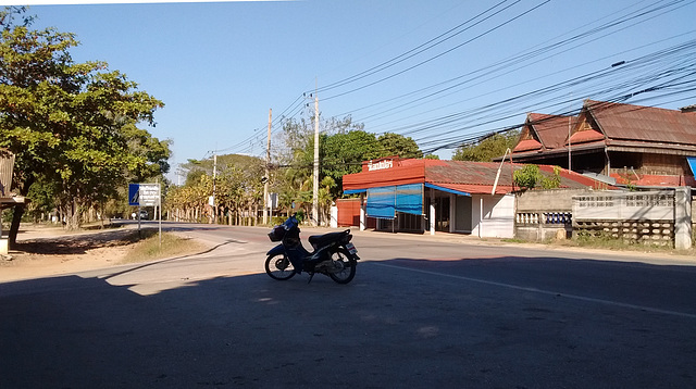 Pause moto / Motorbike break