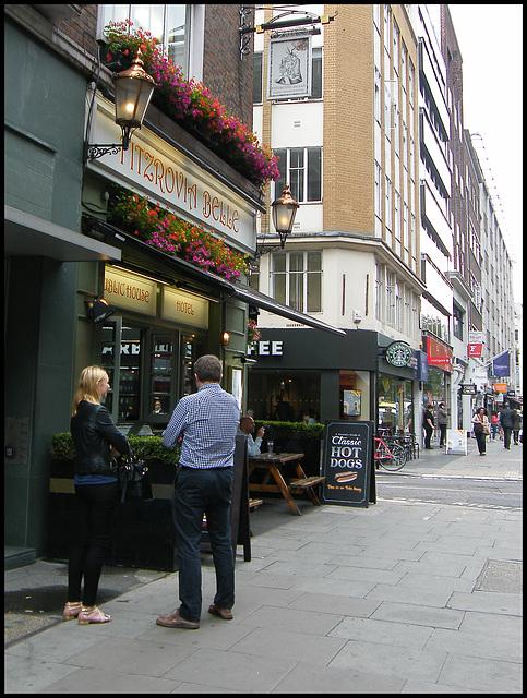Fitzrovia Belle pub