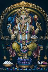 Painting of the God Ganesha