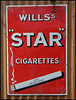 Wills's Star cigarettes