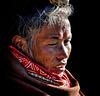 Portrait woman in Bhaktapur Nepal