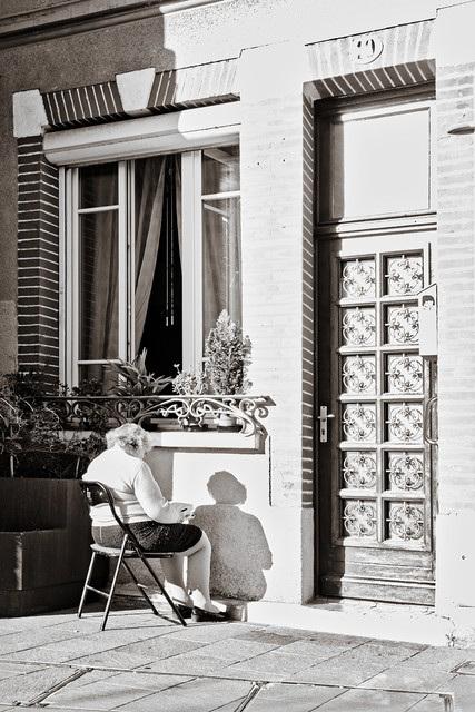 Lectrice à domicile (ou presque)