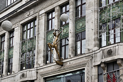 """""""Dancer with Ribbon"""" – The former Bourne and Hollingsworth Department Store, Oxford Street, London, England"""