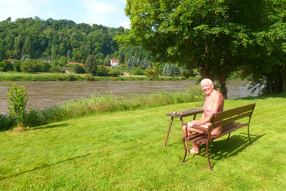 Albert - Sommer an der Elbe