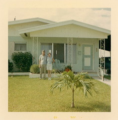 Blue Couple with a Blue House, 1965