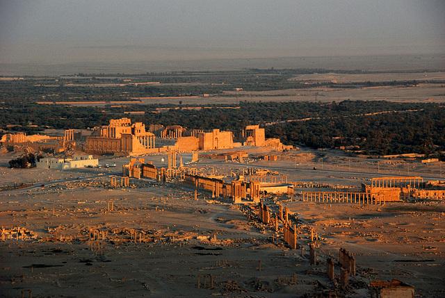 L'antique cité de Palmyre aux mains de DAECH qui occupe la moitié de la Syrie