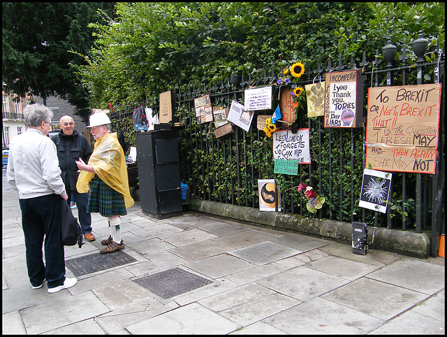 leftie anti-Brexit protest