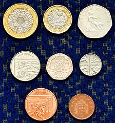 British coins.