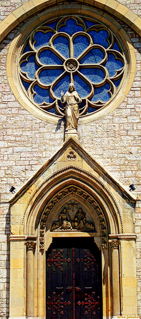 Sacred Heart Cathedral - detail