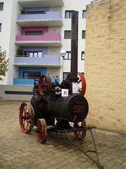 Steam engine Badenia (1922).