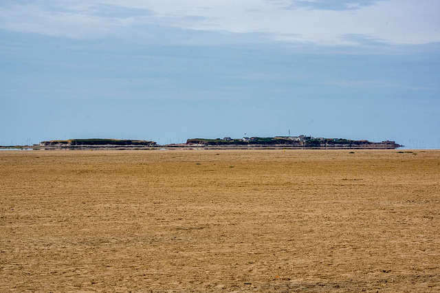Hilbre and Middle eye islands.