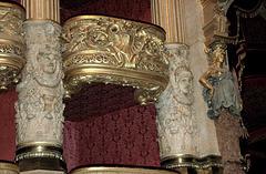 La loĝio de l' Fantomo en la Operejo Garnier