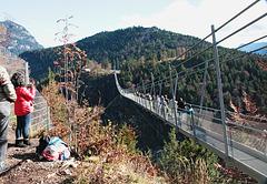 Hängebrücke bei Reutte
