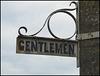 old Gentlemen sign