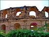 El Djem : Anfiteatro romano di El Jem - copia del Colosseo