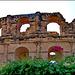 Kairouan : Anfiteatro romano di El Jem - copia del Colosseo