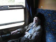 Pch - CAS on the train to Prague