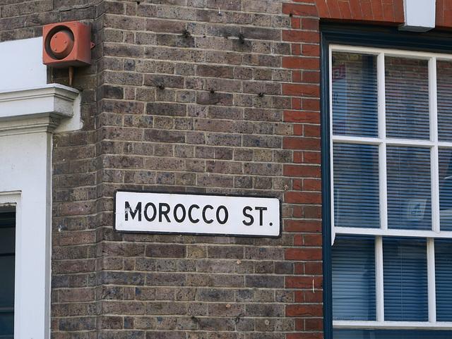 Morocco Street SE1