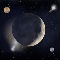 Mars ~ Moon ~  Venus