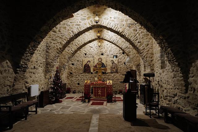 Santa Maria del Vilar,  Sala carolíngia del segle VIII