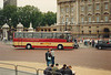 Westbus UK bodied Plaxton Paramount passing Buckingham Palace, London  – 30 May 1987 (49-25A)