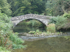 River Manifold and Saint Bertram's Bridge