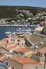 Bonifacio harbour and rooftops